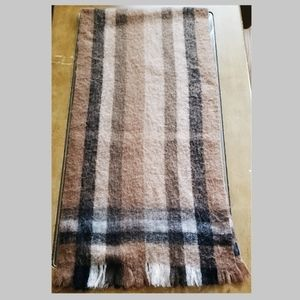 H&M Shades of Brown and Black Scarf